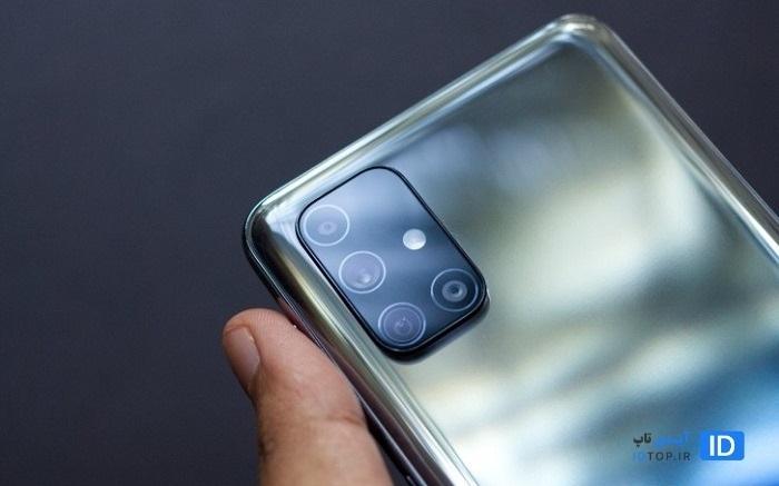 طراحی دوربین پشت Galaxy M31S